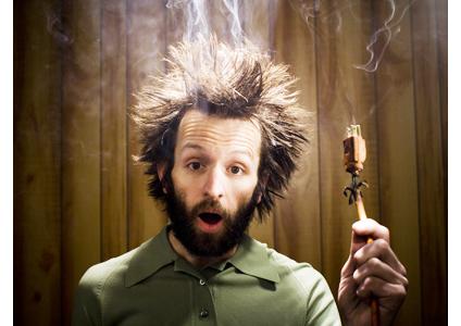 electrician electrocutat