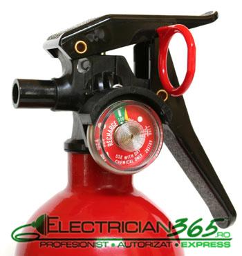 extinctor cu pulbere incendii electrice 2
